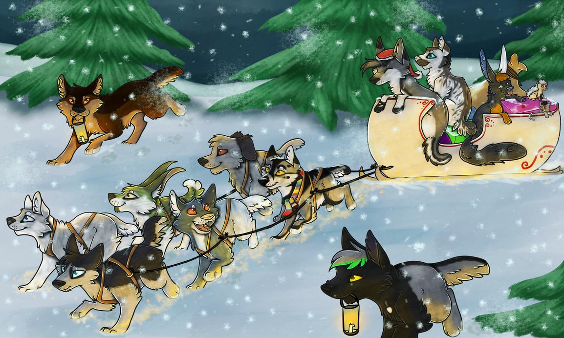 Merry Christmas 2016! by BlaideBlack