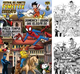 Fumettix Festival POSTER by vicas-art