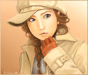 Ayumi Hamasaki by masamuna