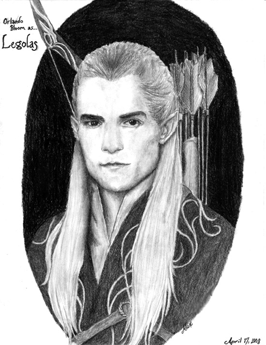 Legolas Charcoal by HarrisonOdell