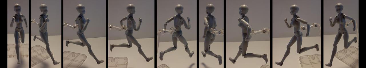 Female Running 3
