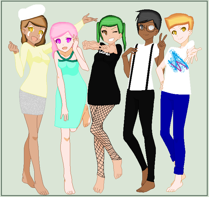 Cool College Kids By Janeyherondale On DeviantArt