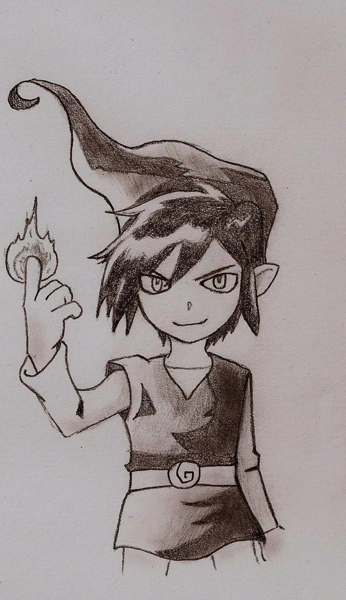 Dark Link by Drawingdude1098