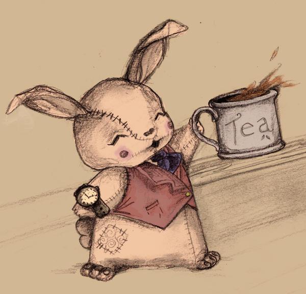 Tea Break by Laura-Bosley