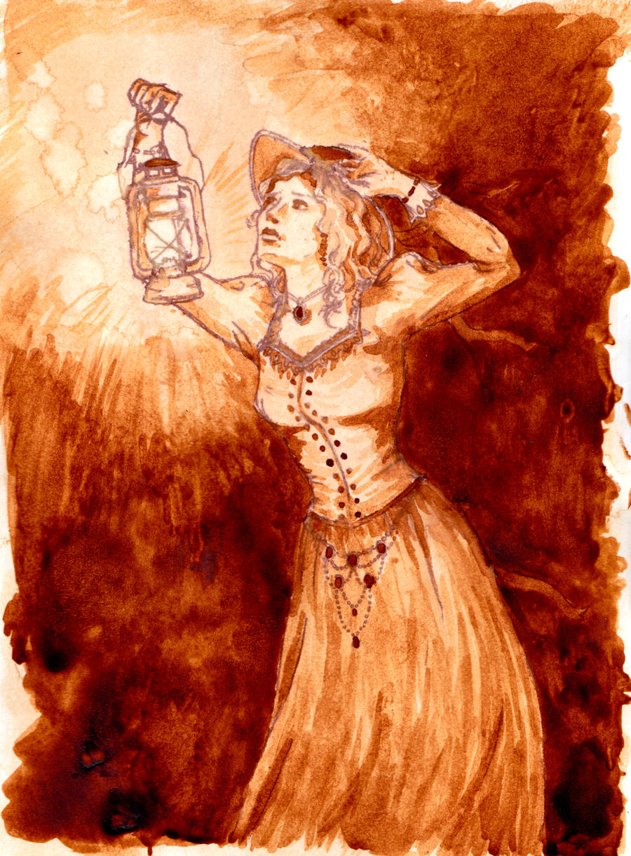 Art with coffee on pinterest coffee painting pintura for Painting with coffee