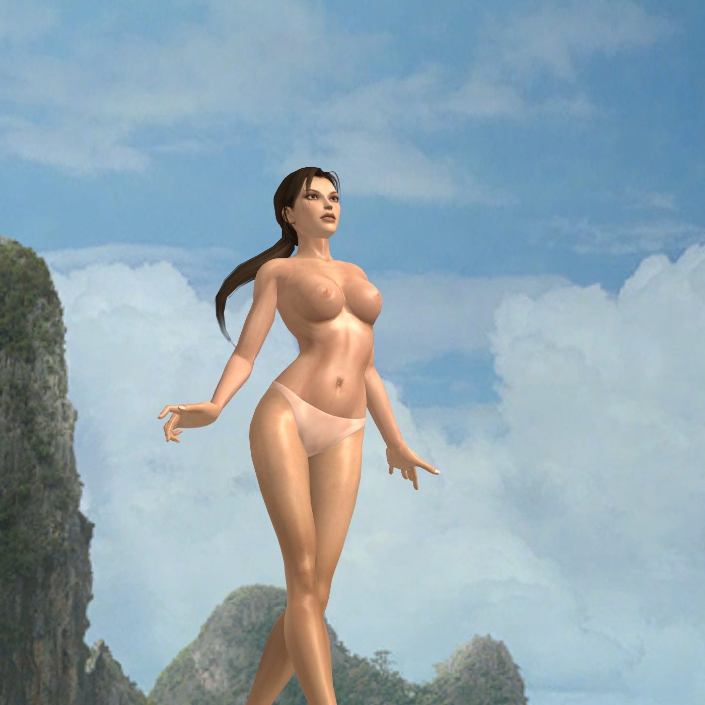 Lara croft die topless sexy galleries