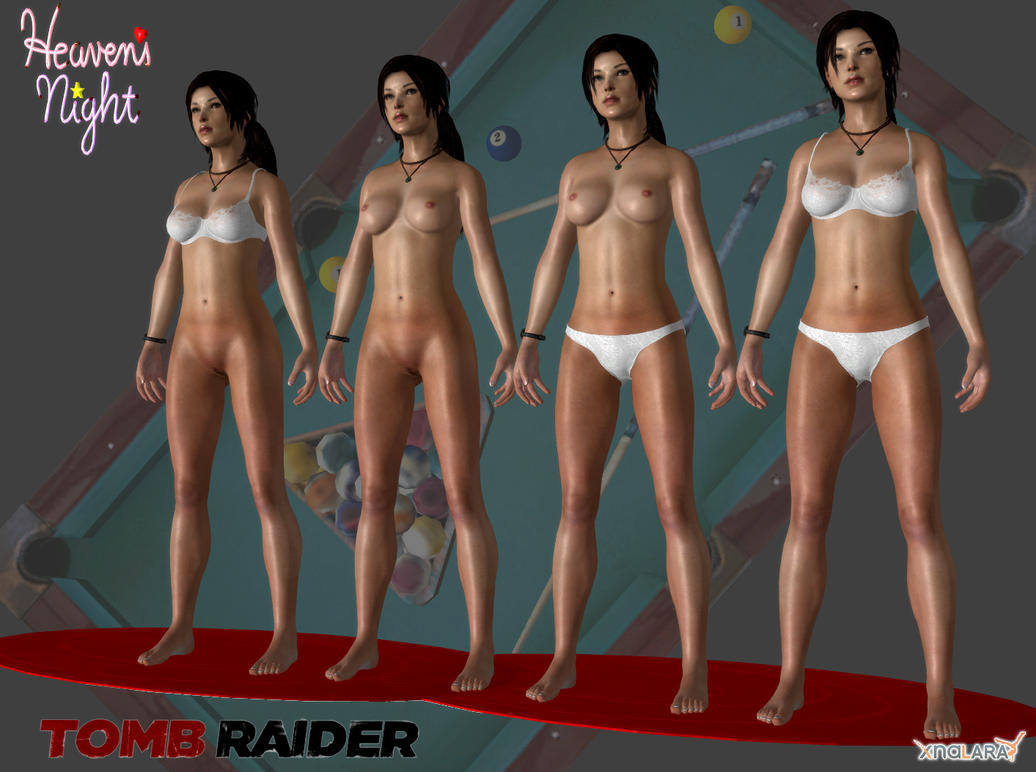 Lara strip for older XNALara by kamilszy
