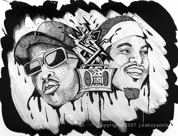 outkast 2007 by FireplugArts