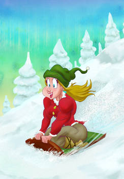 Sled Ride 1