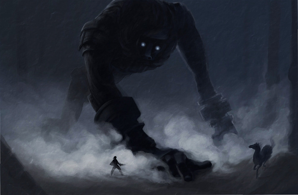 shadow.o.t.colossus: In Shadow by TeaBeforeWar