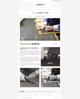Website design for Savile Row by evidentart