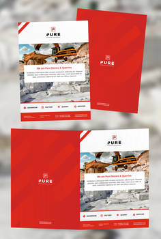 Print and Web Design for Pure