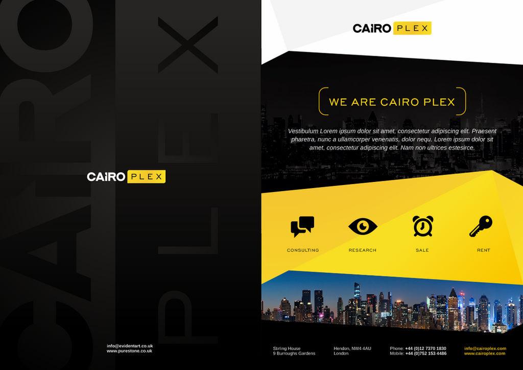 Print Design for Cairo Plex by evidentart