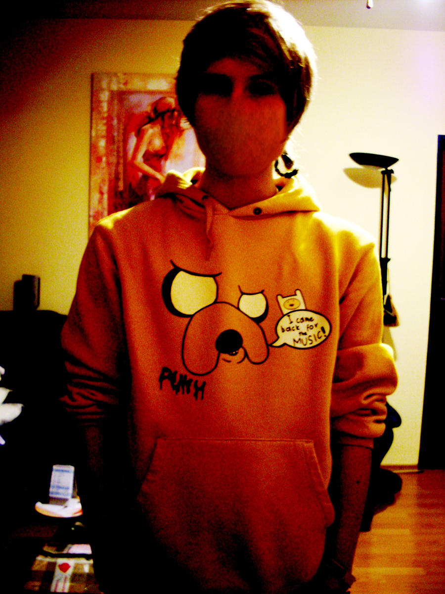 Adventure Time hoodie by puky7