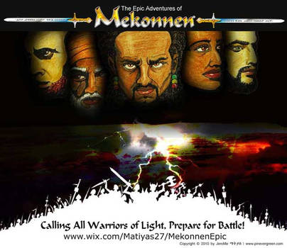 Mekonnen Warriors5 Poster by j-saturn