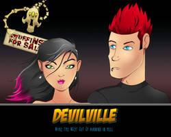 DevilVille Wallpaper by uberdiablo-pixels