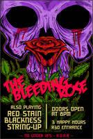 Bleeding Rose - Flyer Design by uberdiablo-pixels
