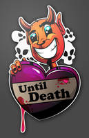 Devil Inside - Happy Valentine by uberdiablo-pixels