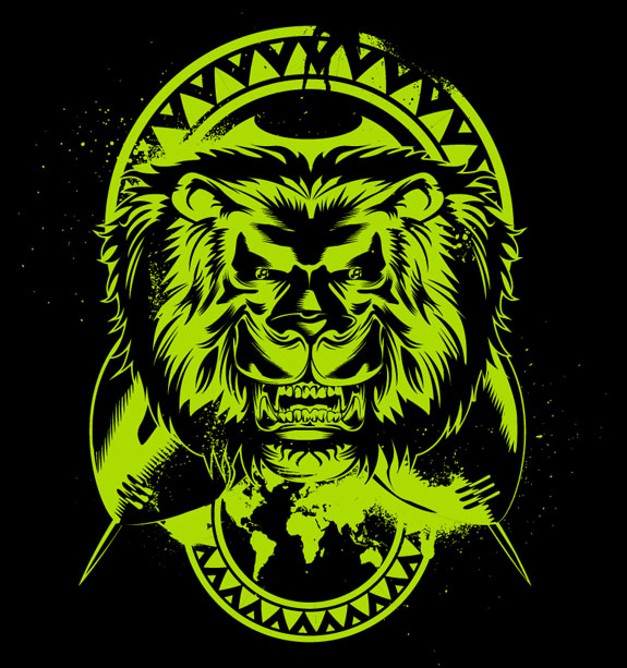 Lion's Roar by uberdiablo-pixels