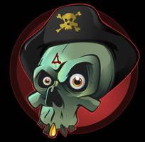 Pirate Omen Sculley by uberdiablo-pixels