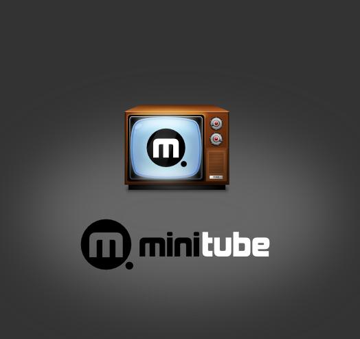 MiniTube icon concept