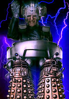 Davros and the Daleks by Cotterill23