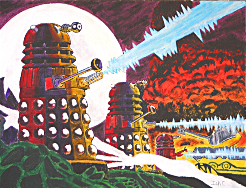 http://cotterill23.deviantart.com/art/Dalek-Attack-546141944