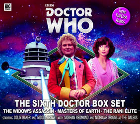 The Sixth Doctor Box Set Cover