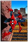 Spider-Girl #10 Cover Colourisation