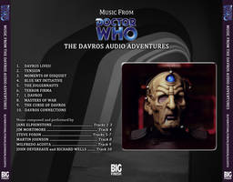 Music From The Davros Audio Adventures BACK COVER by Cotterill23
