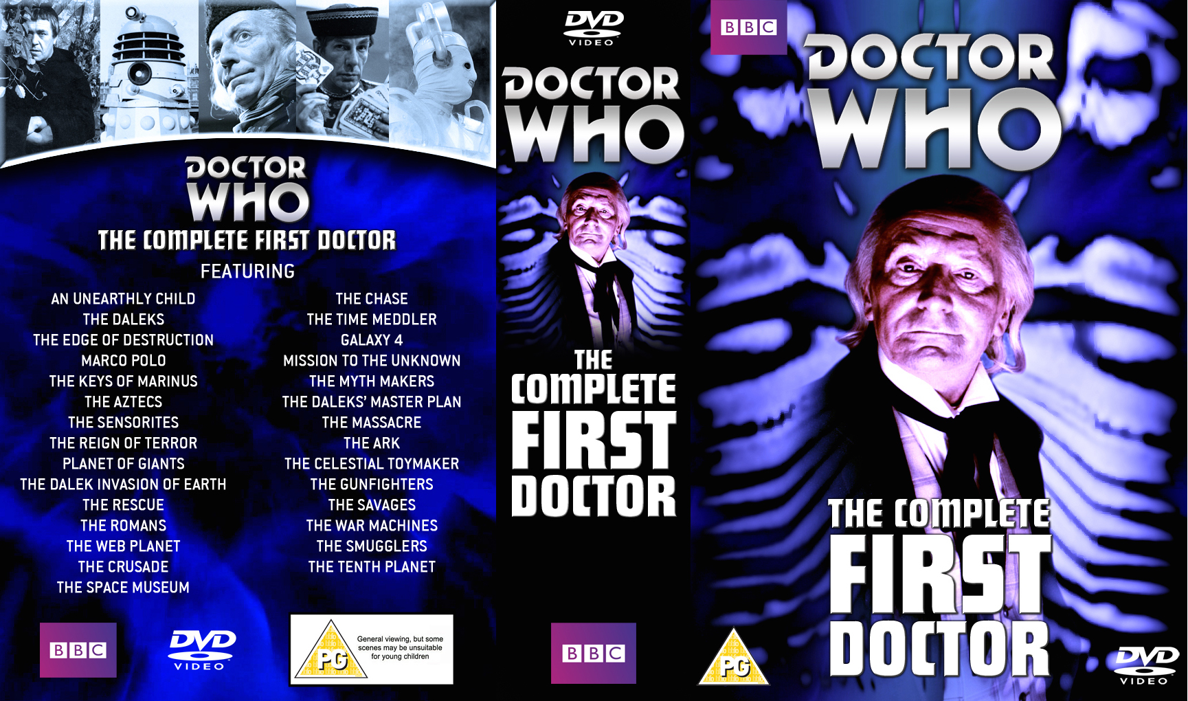The Complete First Doctor Boxset by Cotterill23