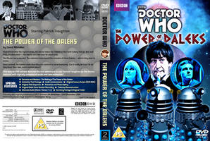 The Power Of The Daleks - DVD Cover REVISED