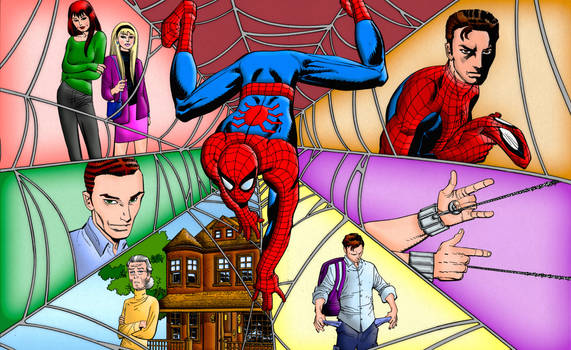 Spider-Man: The New Status Quo | Colourised by Cotterill23