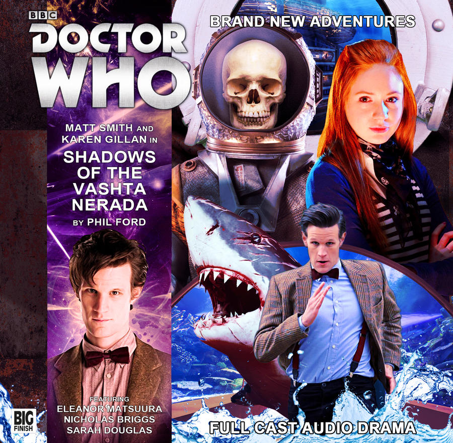 Shadows Of The Vashta Nerada | Big Finish Cover by Cotterill23