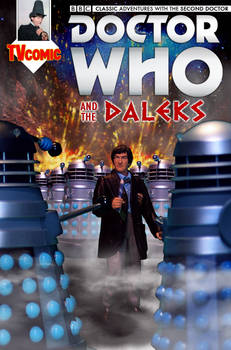 Dr Who and the Daleks | Action Figure Comic Cover