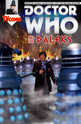 Dr Who and the Daleks | Action Figure Comic Cover by Cotterill23