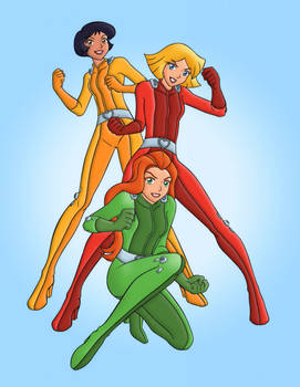 Totally Spies! | Colourised 6
