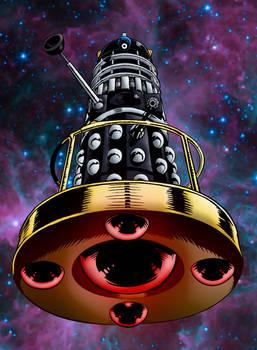 Black Dalek On Hoverbout