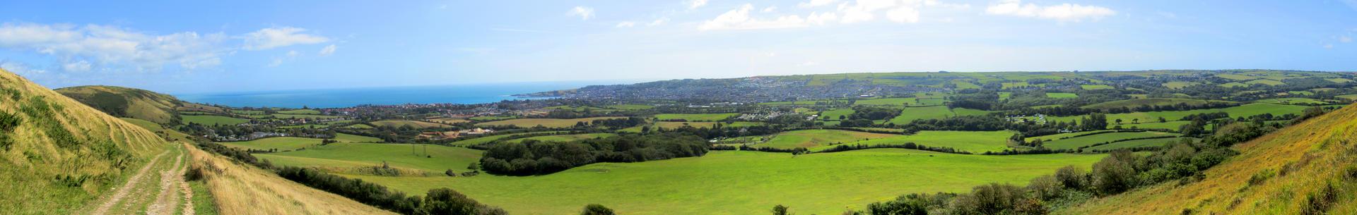 Dorset Walk View Panorama
