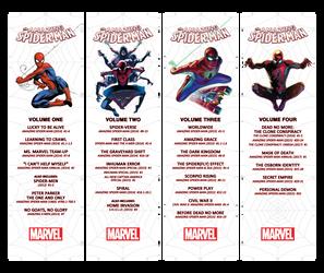 Amazing Spider-Man Box Labels Set 1
