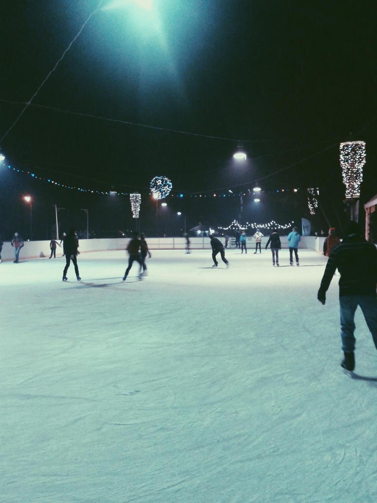 ice rink by maskedrav