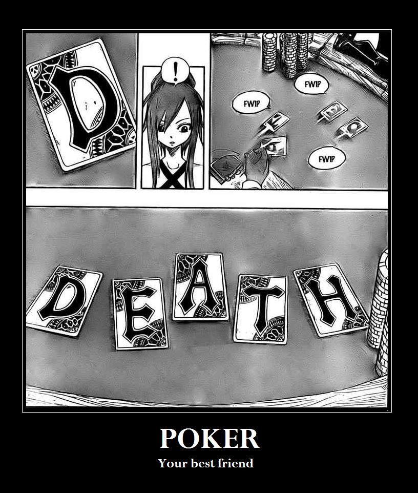 T : Fairy Tail 7 Poker by DRUNKENunicorn756