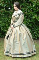 1861 Silk Day Dress by SerenaScarlet