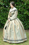 1861 Silk Day Dress