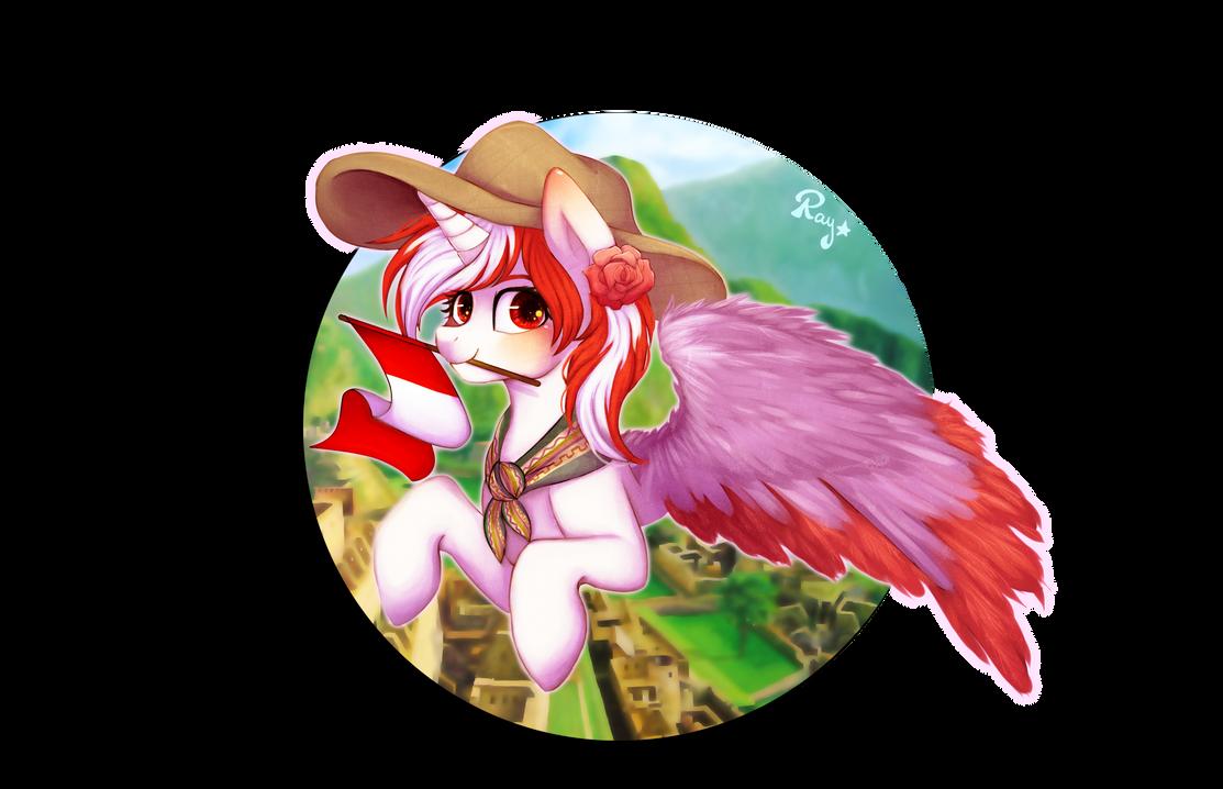 Princess Peruvia by adventurepainter18