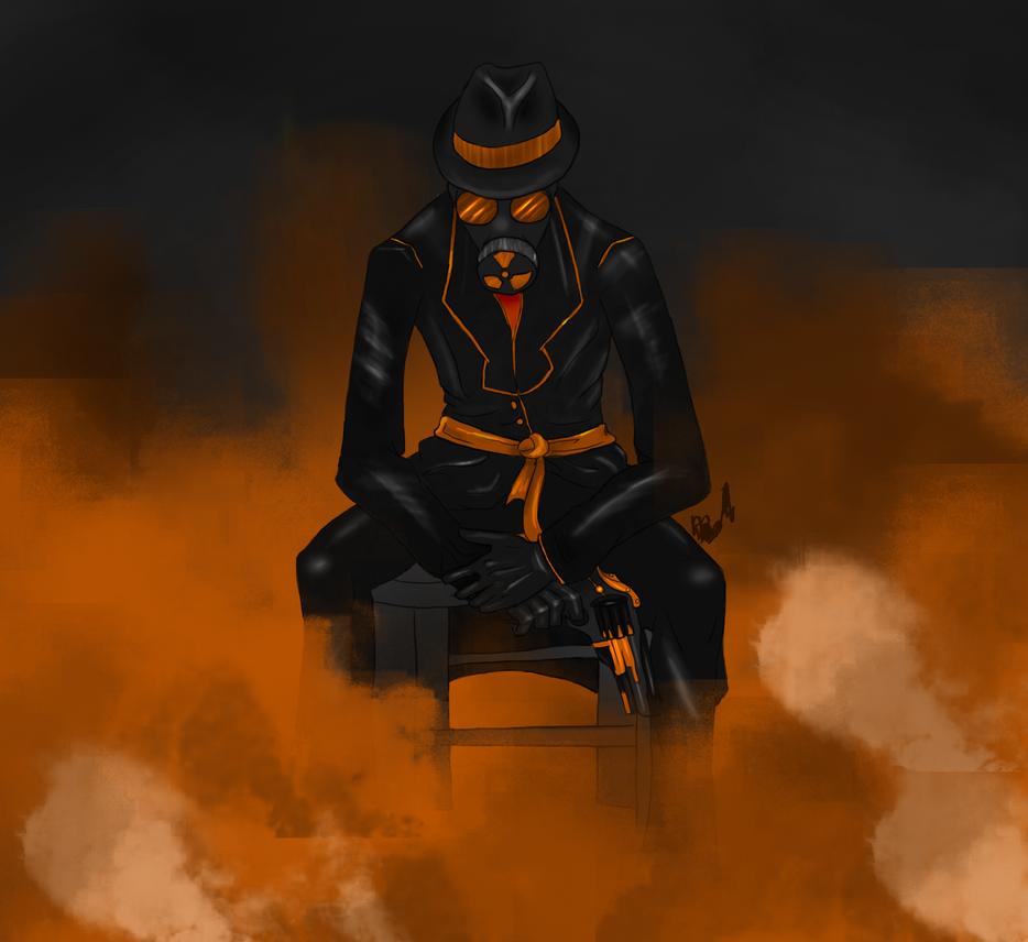 Agent Orange by BlackRoseOpal