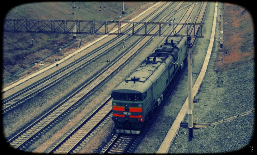 October train by klopmaster