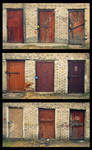 three x three doors