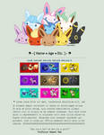 Super Mega Kawaii Pokermans --- f2u page code