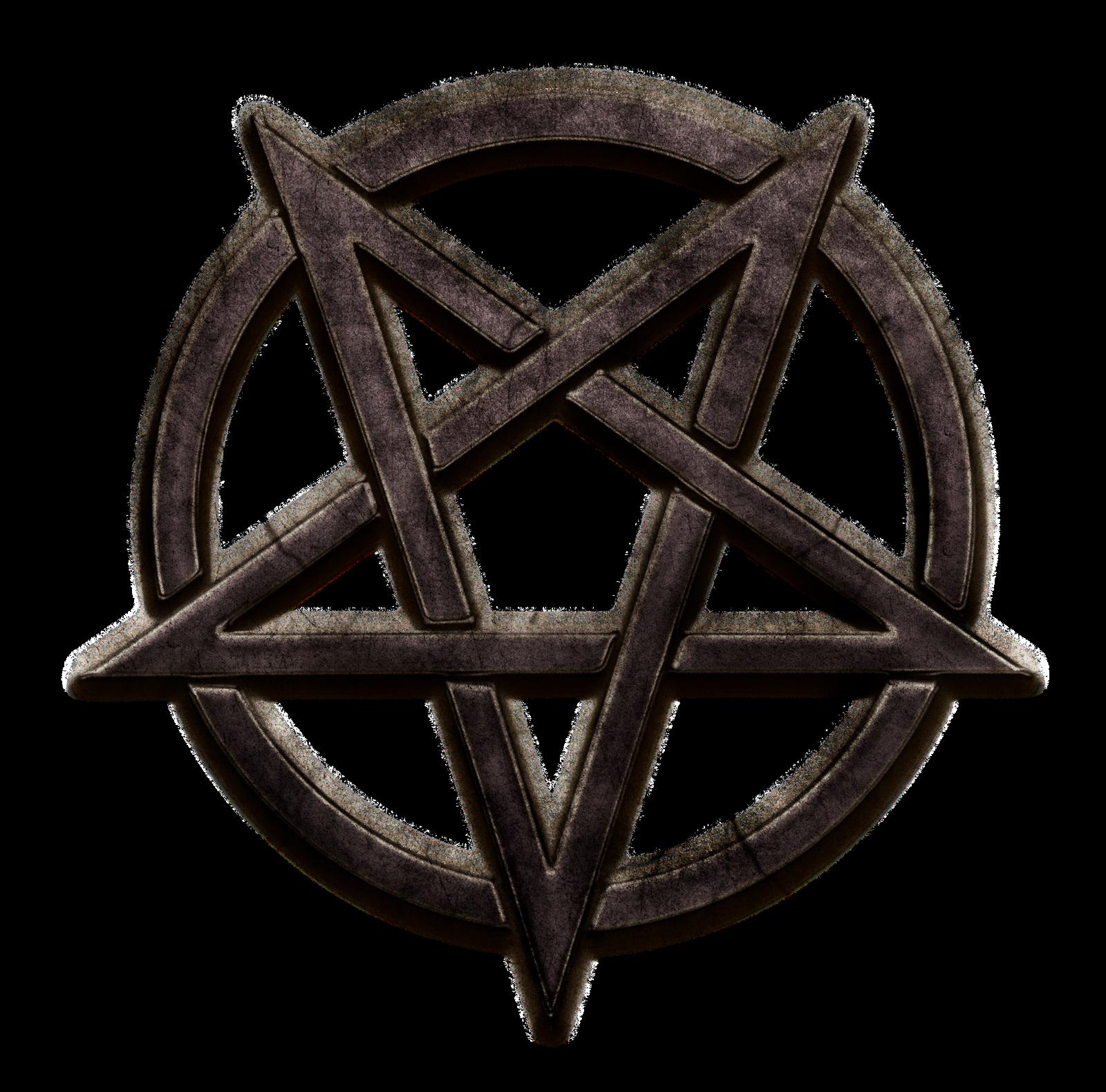 Metallic Pentagram Clipart By Vacaliga On Deviantart